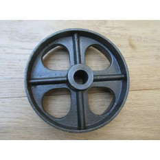 "Cast Iron Rustic 4.5"" Small Axle Wheel"