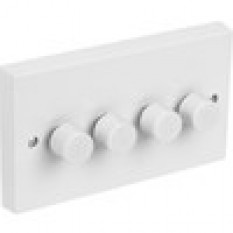 Push Dimmer Switch 4 Gang