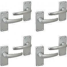 4 Pairs Aluminium Lever Handles