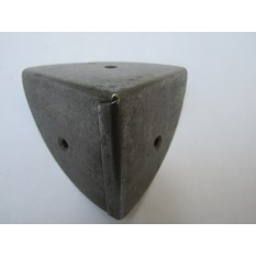 Pack Of 4 Large 70mm Round Chest Corners Antique Iron