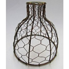 Bell Chicken Wire Lamp Shade