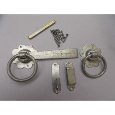 "Ring Latch 6"" Zinc Steel"
