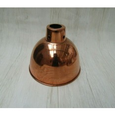 "Retro Light shade 6"" Dome Polished Copper"