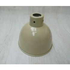 "Retro Light shade 6"" Dome Cream"