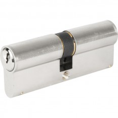 Yale 1 Star 6 Pin Double Euro Cylinder 35-40mm Nickel