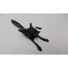 Fox Knocker Black Antique