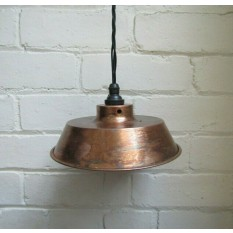"8"" Small Retro Light Shade Antique Copper"
