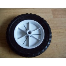 Black Tyre Cart Wheel 8""