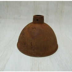 "Retro Light shade 8"" Dome Rust"