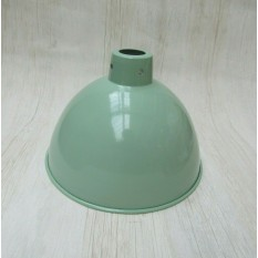 "Retro Light shade 8"" Dome Duck Egg Blue"