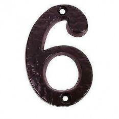 9 or 6 Iron House Door Number
