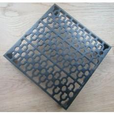 "Extra Large 9"" x 9"" Air Brick Vent Black"