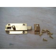 solid brass flat slid
