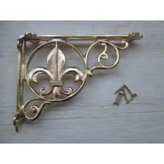 FLEUR DE LYS Decorative Bracket