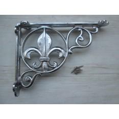 FLEUR DE LYS Decorative Bracket Rustic
