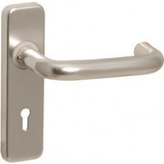 Aluminium Contract Lever Lock Handles