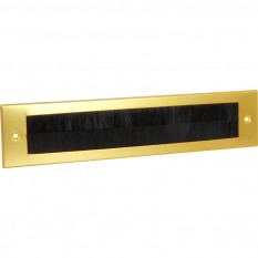 Aluminium Internal Brush Cover Gold