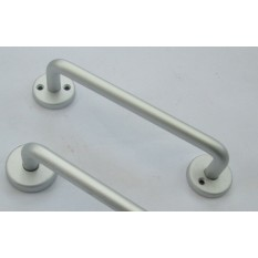 Satin Aluminium Pull Handle Face Fix