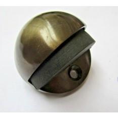 Door Stopper Half Moon Antique Brass