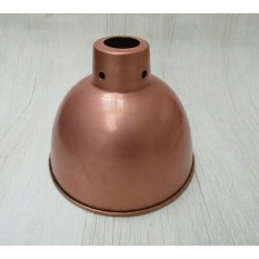 "Retro Light shade 8"" Dome Antique Copper"