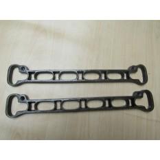Ceiling clothes airer creel /Kitchen Pot pan rack shelf brackets slats Antique Iron