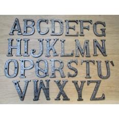 """3"""" Antique Iron Letter P"""