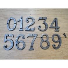 """3"""" Antique Iron Number 0"""