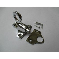 POLISHED CHROME-Victorian old style window fittings- ATTIC FANLIGHT CATCH