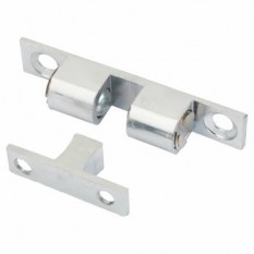 Adjustable ball catch 50mm Polished Chrome