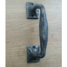 Cast Iron 6'' Barn Offset Door Handle
