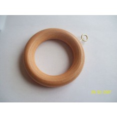 Beech Wood Curtain Rings