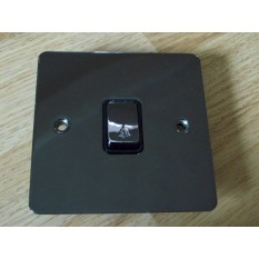 Black Nickel Switch Plate Bell push switch plate