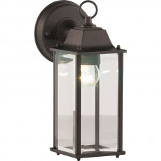 Bevelled Glass Light Black