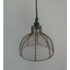 8'' Round Bird Cage Pendant Light Shade