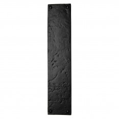 Cast iron door finger plate