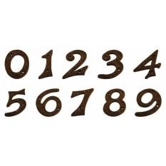 Black Antique House Door Numbers