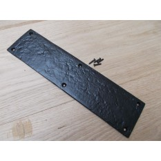 Black Antique Plain design finger Plate