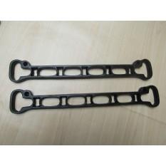 Ceiling clothes airer creel /Kitchen Pot pan rack shelf brackets slats Black Antique 8