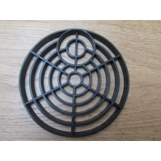 Round Plastic Black Gutter Cover