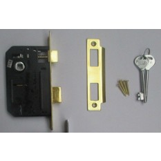 3 Lever Mortice Sashlock Brass