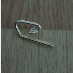 Pack Of 50 Metal Curtain Head Lining Hooks Brass
