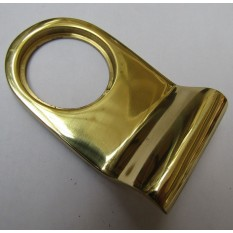 Door Cylinder Pull Front Door Keyhole Cover pull Plain Brass