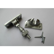 Satin/Brushed Chrome- Brighton Screw Down Fastener
