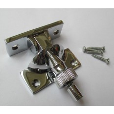 Brighton screw down fastener Polished Chrome