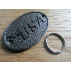 BSA Motorbike Cast Iron Key Ring