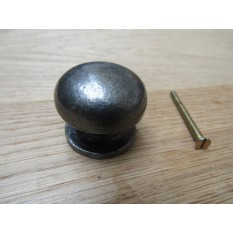 Burlington Mushroom Cabinet Knob Antique Iron
