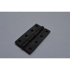 """4"""" Black Steel Butt Hinges (Pack of 2)"""