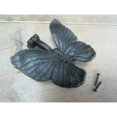 Butterfly Door Knocker Antique Iron