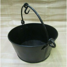 Black Wax Bucket Campfire
