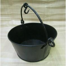 Black Wax Bucket Campfire